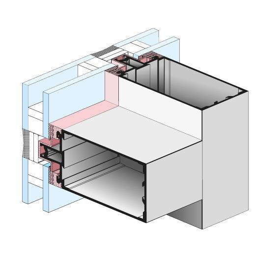 Systemy aluminiowe licowanie profili i uszczelek