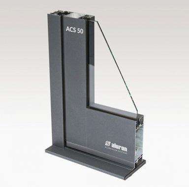 ACS50 systemy aluminiowe drzwi