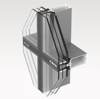 fasada aluminiowa AF-50S