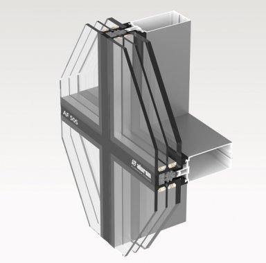fasada aluminiowa AF 50S