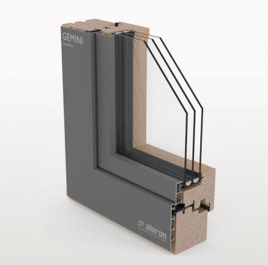 okno GEMINI Quadrat