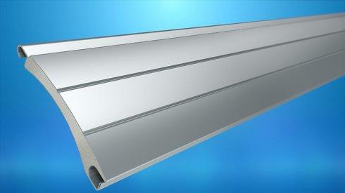Profil aluminiowy PA-45 bez perforacji